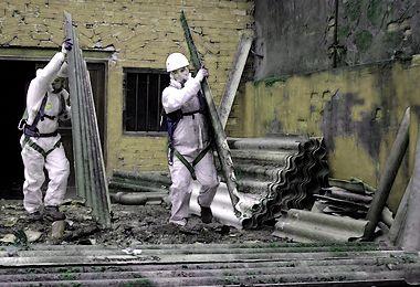 Odstranění azbestu a eternitu