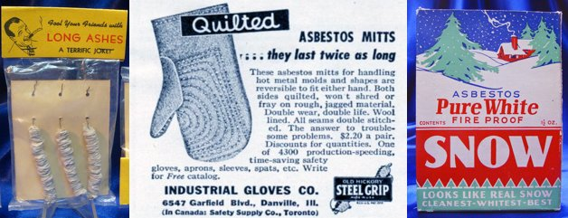 Rizika azbestu v produktech