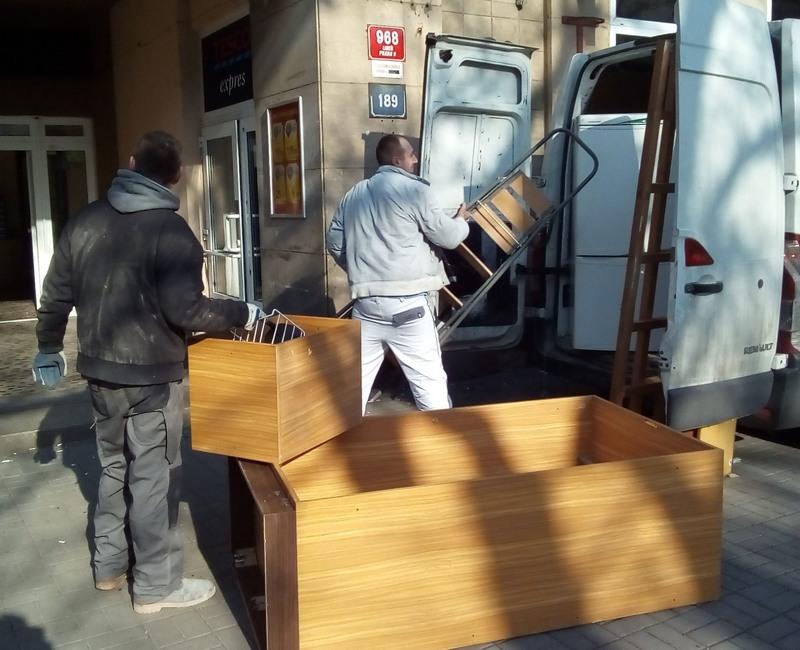 Vyklízení bytů Praha 8