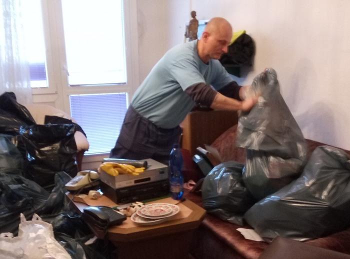 Vyklízení odpadu z bytu - Praha 7